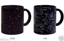 Constellation Star Color Changing Heat Temperature Sensitive Coffee Mug Cup
