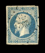 FRANCE - N°14A 20c EMPIRE ND Type 1 OBLITÉRÉ (05a) PC 2327 ONNAING (ind.7)