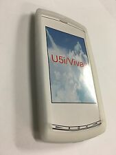 Sony Ericsson Vivaz U5a, U5i Kurara Silicone Case Cover in White SSSEVIVAZ-A