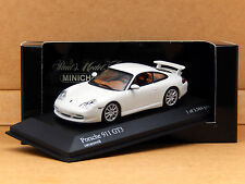 1/43 Porsche 911 GT3 Carrera White Typ 996 II Minichamps Model 400 062022