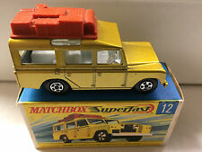 MATCHBOX TRANSITIONAL SUPERFAST #12 LANDROVER MIB