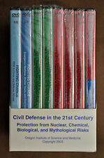 Brand New Sealed Civil Defense in The 20th Century 8 DVD Set