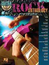 """ROCK ANTHOLOGY"" GUITAR PLAY-ALONG VOLUME #81 W/TAB MUSIC BOOK-CD BRAND NEW SALE"
