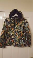 Mens Hooded Jacket Hoodie - Pull & Bear Special Street - Green Jungle - S EUR