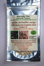 Orgánico 100% Tongkat Ali - 350 Mg X 60 Cápsulas vegetarianas-eurycoma longifolia