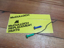 McCulloch Pro Mac 800 805 8200 Chainsaw Choke Button and Oil Pump Push Rod