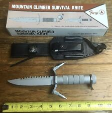 Older Fury Cutlery Knives Mountain Climber Survival Knife RARE