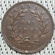 *GOOD Grade* 1885 - Sarawak - 1 Cent Charles Brooke #CCJI