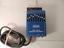 VINTAGE MXR 10-BAND EQ EQUALIZER EFFECTS PEDAL  ORIGINAL FREE SHIPPING