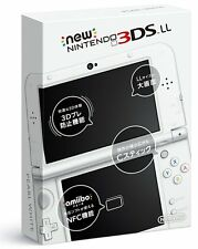 NEW 2015 Nintendo 3DS LL Console System Pearl White Japanese Version NTSC-J F/S
