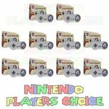 WHOLESALE LOT 10 NEW Controllers for SNES Super Nintendo System Control Pads NIB