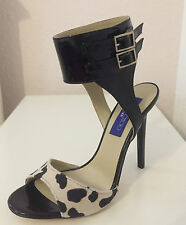 Jimmy Choo Schuhe Leo Stilettos High Heels Pumps Leder EUR Gr 38 US 7 UK 5