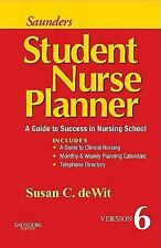 Saunders Student Nurse Planner: A Guide to Success in Nursing School, 6e