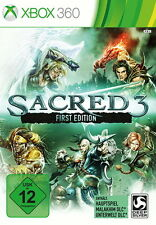 xBox360 xBox 360 Microsoft * Sacred 3 First Edition * inkl. OVP & Anleitung