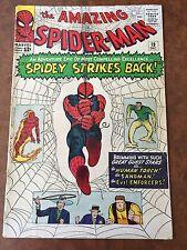 """Amazing Spider-Man #19 Dec. 1964  """"Spidey Strikes Back""""  Marvel Uncertified"""