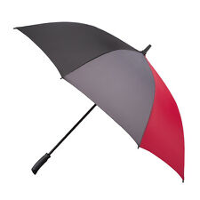 Totes Multigore Auto Golf Umbrella - Red/Black/Grey
