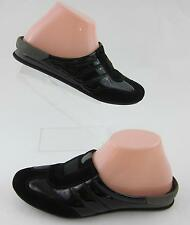 NEW! Cole Haan Nike Air 'Zanna' Mule Clogs Black Leather Sz 6B