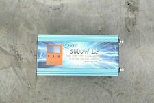 5000W/20000W LF UPS Pure Power Inverter DC 12V to AC 220V +80A Charger+3.5'' LCD