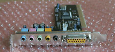 Mercury KOB-C884-E - 6 Channel Sound / Audio Card For Desktop PC Computer