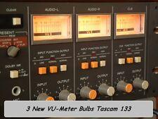 Tascam 133. VU meter bulbs new (3)