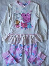 BNWT Peppa Pig para niña Conjuntos De Pijama Edad 4-5 años de edad