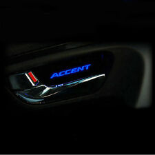 New LED mood door catch plate 1set 4pcs For Hyundai Accent 2011+