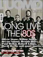 L'uomo VOGUE Italy DURAN DURAN Long Live 80s Paul Weller David Byrne Olive Stone
