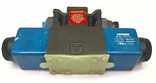 VICKERS DG4V-3S-6C-M-FPA5WL-60 DIRECTIONAL CONTROL VALVE 02-109823 120VAC USED