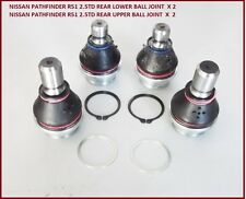 Fits : NISSAN PATHFINDER R51 2005- REAR SUSPENSION LOWER & UPPER BALL JOINT KIT
