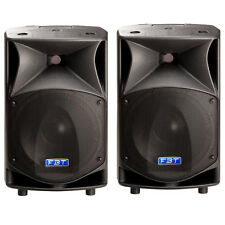 PAIR FBT PROMAXX 12 PA DJ TOURING SPEAKERS 600W EACH ! LOWER PRICE
