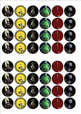 Nightmare before Christmas fairy cake decoration toppers x 48 on ICING