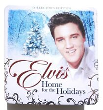 Home for the Holidays Elvis Presley 2007 Blue Christmas GUITAR CANDLE NM