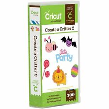 Cricut Cartridge - Create a Critter 2 - Animals, Seasons, Holidays, Phrases