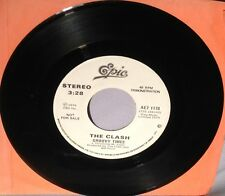 """45 7"""" THE CLASH Groovy Times/Gates of the West AE7 1178 PROMO NEAR MINT"""