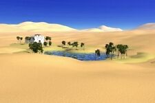 GUIDED MEDITATION TO VISIT A DESERT OASIS CD, VISUALISATION RELAXATION, PEACEFUL