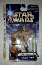 Star Wars - Saga Gold - Coleman Trebor Battle of Geonosis card damaged
