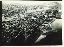 1939 Professional Aerial  Photo  Milwaukee Lakefront Ford Trimotor Plane in phot