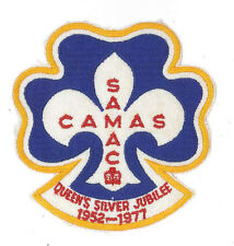 SCOUTS OF CANADA / CANADIAN SAMAC - 25th Years of QUEEN'S SILVER JUBILEE BADGE