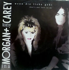 "7"" 1991 RARE IN MINT -! INA Morgan & Tony Carey: se l'amore va"