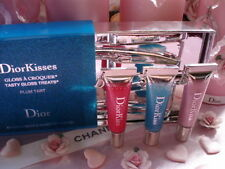 100% AUTHENTIC Exclusive 3 x DIOR JEWEL DIORKISS PLUMPING LIPGLOSS TRIO GIFT SET