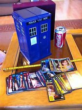 Dr Who Doctor Who Police Box Tardis Card Holder with Random Cards Bundle