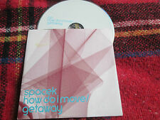 Spacek Getaway / How Do I Move Spacek ‎ Blue (Island) ‎CIDDJ776 Promo CD Single