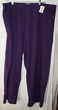 Sport Savvy Essentials Purple Sweat Pants Size 2X Inseam 30""