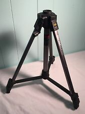 Bilora 810 Favorit Camera Tripod Stand Adjustable Black & Silver Professional