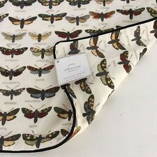 Pottery Barn Shadowbox Butterfly Lumbar Pillow Cover Ivory 16x26 NEW WITH TAGS