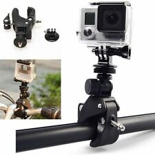 For Gopro Hero 4 3+ 2 Accessory Bicycle Motorcycle Handlebar Tripod Mount Holder