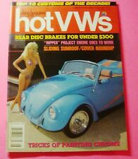 DUNE BUGGIES AND HOT VWs MAGAZINE JUNE/1989...TOP TEN CUSTOMS OF THE DECADE