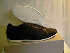 Lacoste shoes casual alissos 13 spm blk textile/leather size 11 us new with box