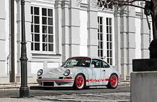 """065 Porsche 911 - High Performance Sports Racing Car 37""""x24"""" Poster"""