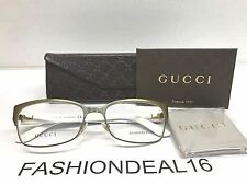 New GUCCI Authentic w/TAGS Bronze Black GG4214 5L3 54mm Eyeglasses